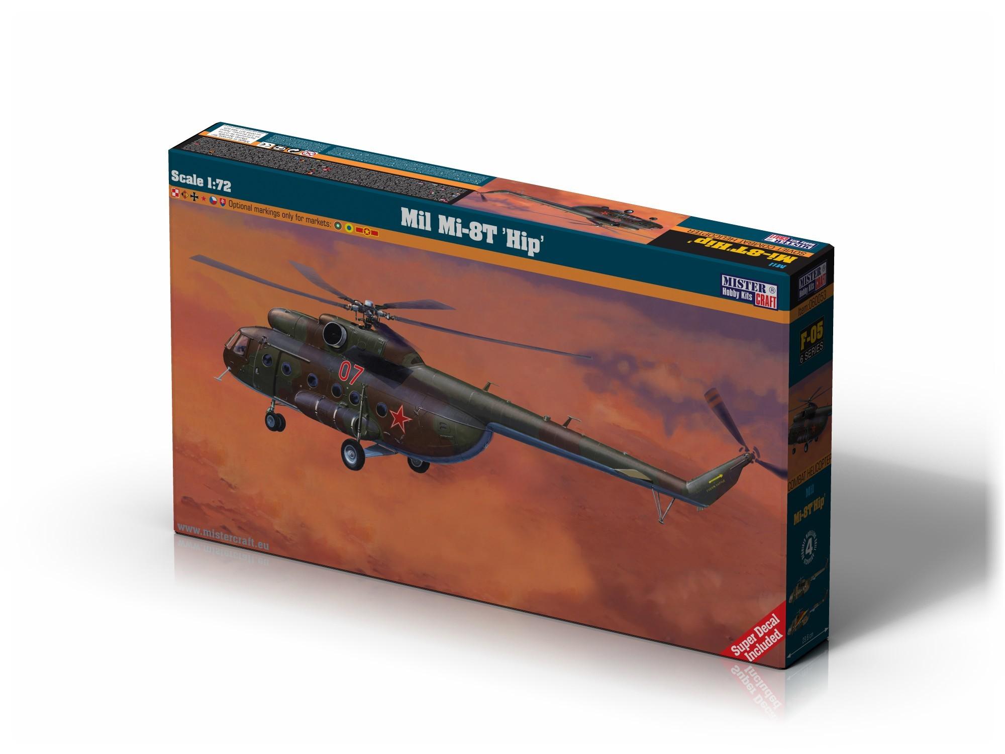 F-05 Mil Mi-8T HIP   1:72