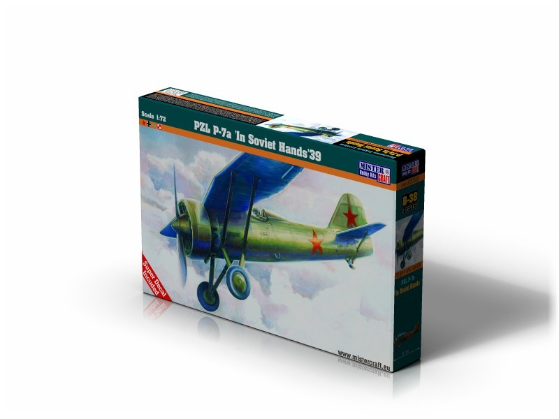 B-38 PZL P-7a In Soviet Hands   1:72