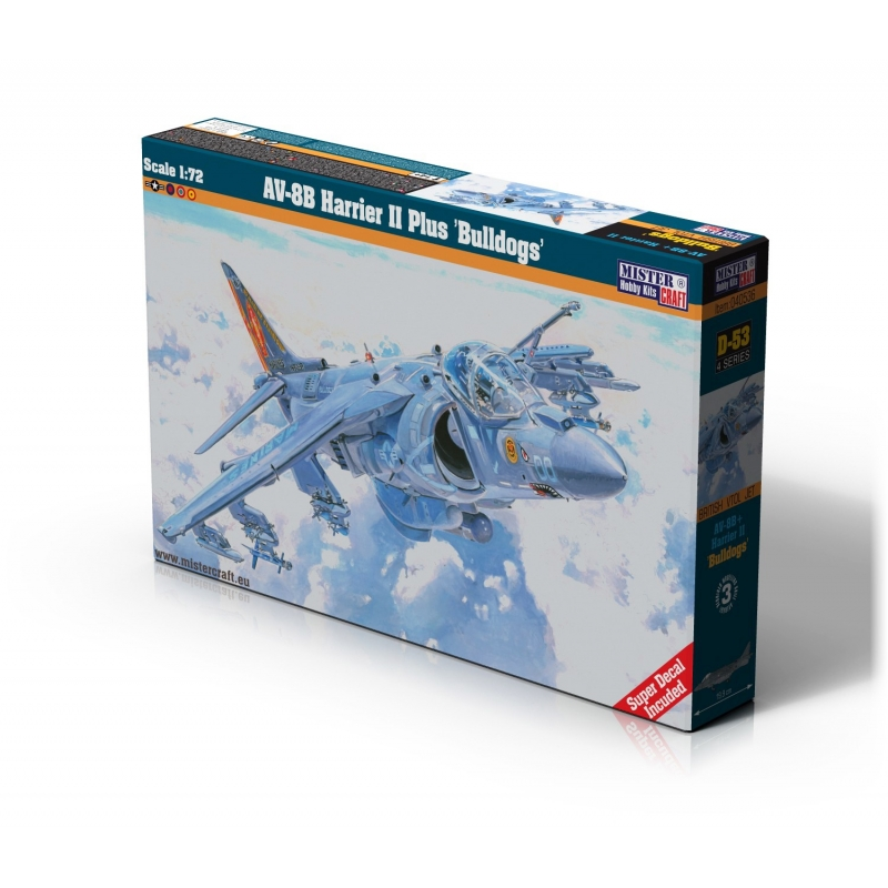 D-53 AV-8B Harrier II Plus Bulldogs   1:72