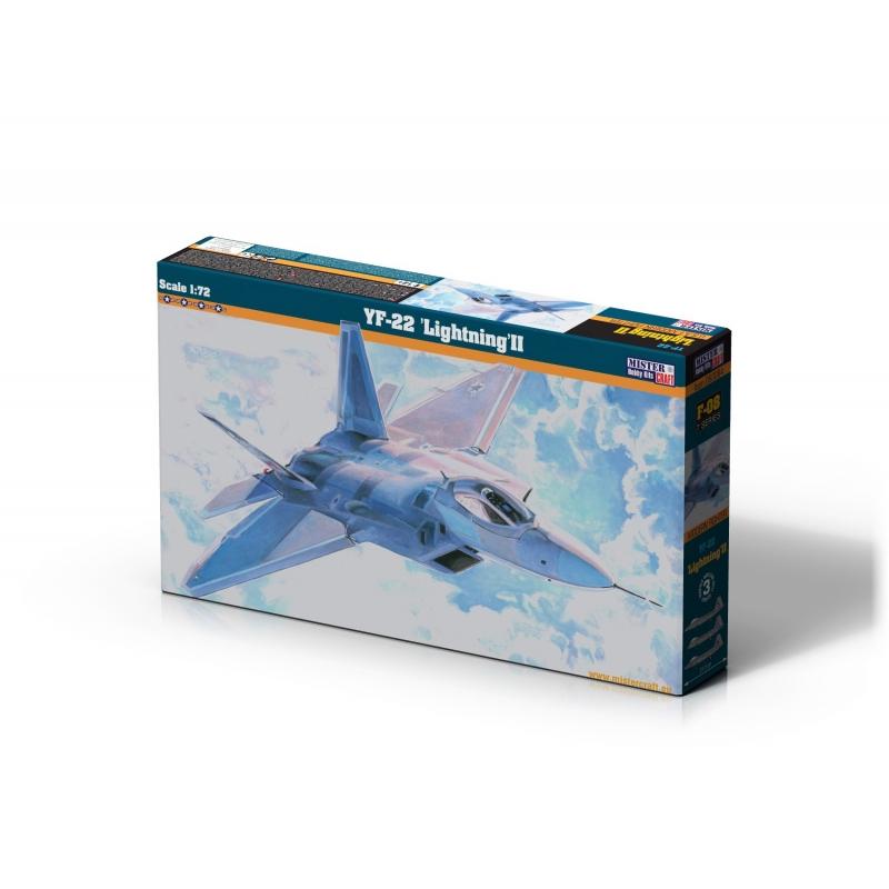 F-08 YF-22 Lightning   1:72