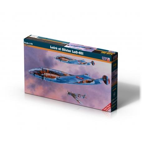 F-50 Loire et Olivier LeO-451   1:72