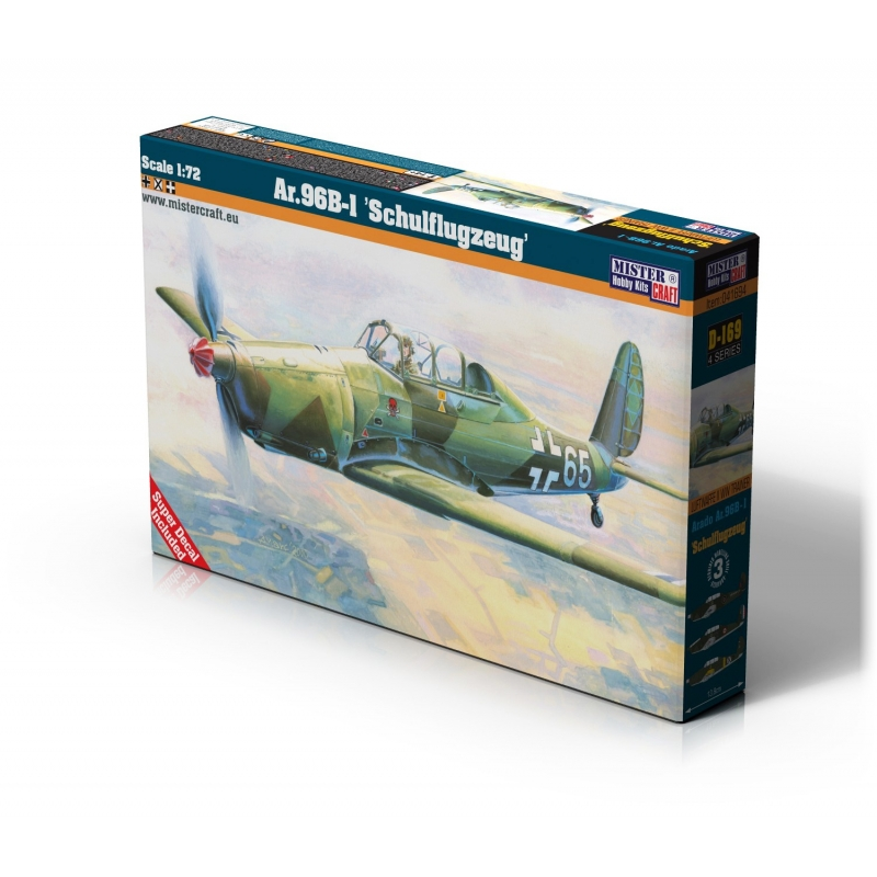 D-169 Ar.96B-1 Schulflugzeug   1:72