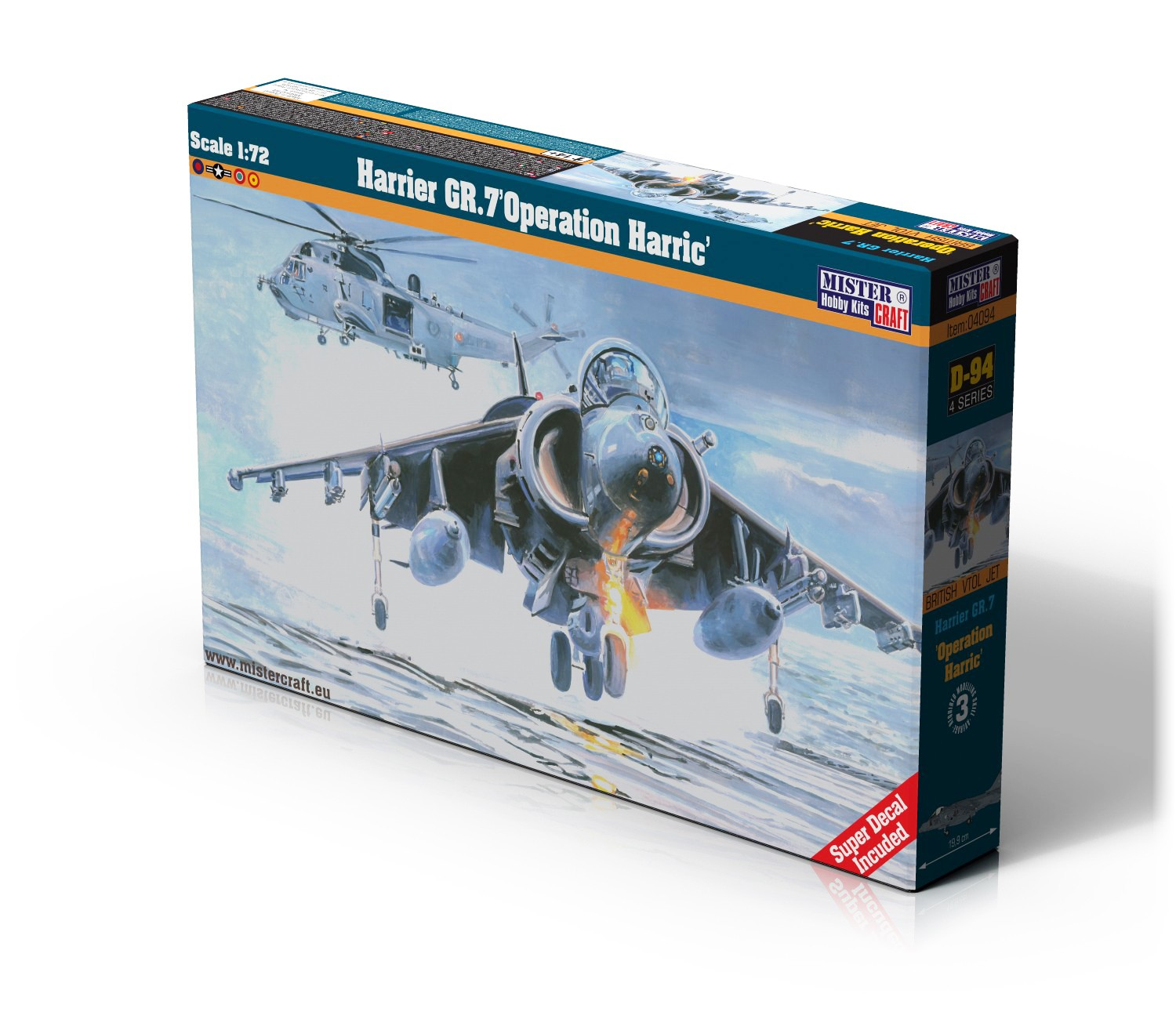D-94 Harrier GR.7 Operation Harric   1:72