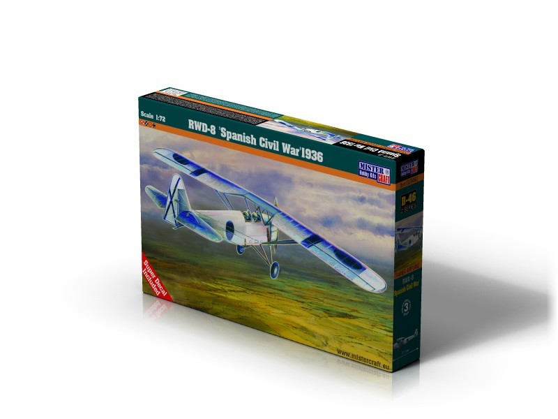 B-46 RWD-8 Spanish Civil War 1936   1:72