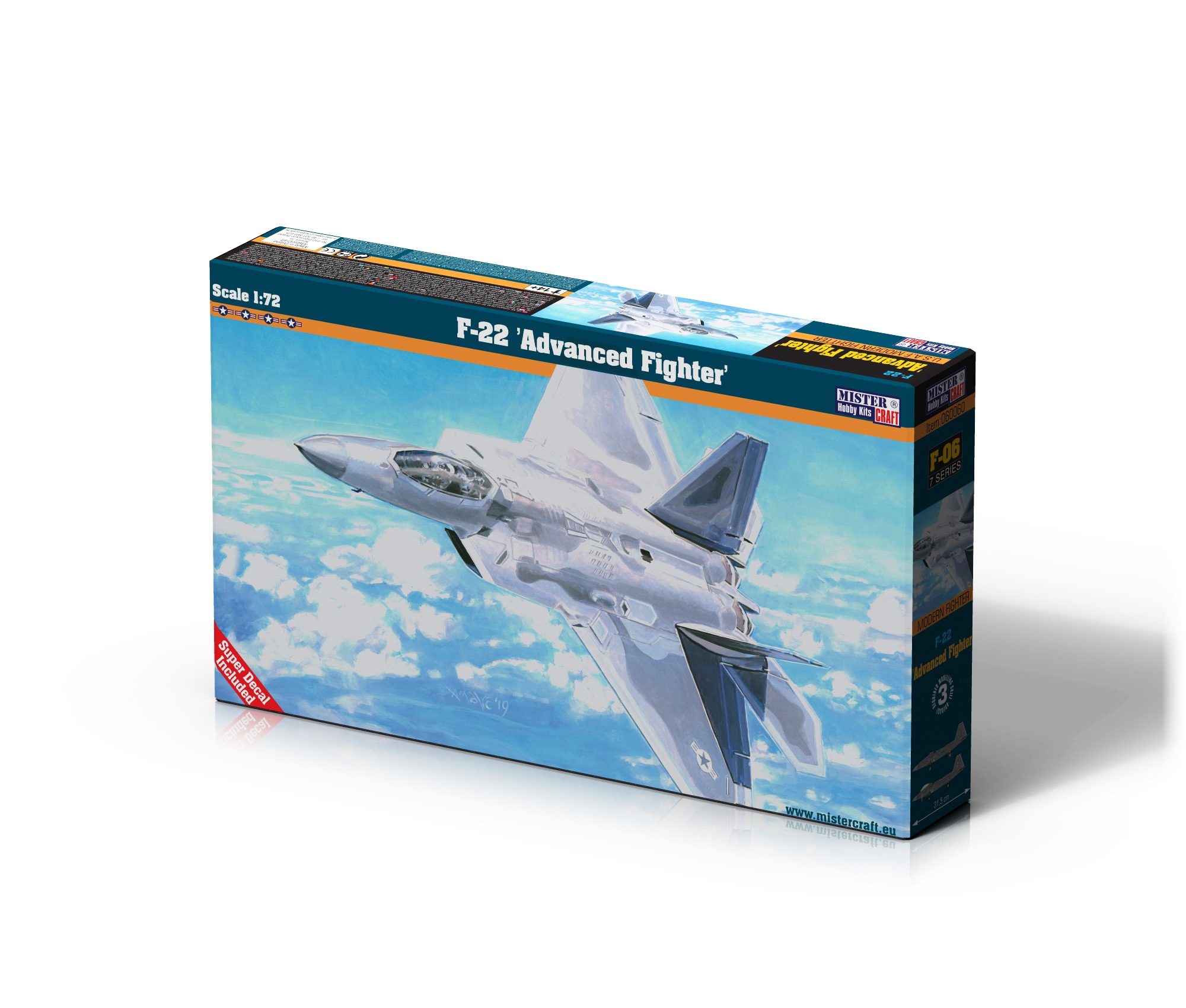 F-06 F-22 Advanced Fighter   1:72