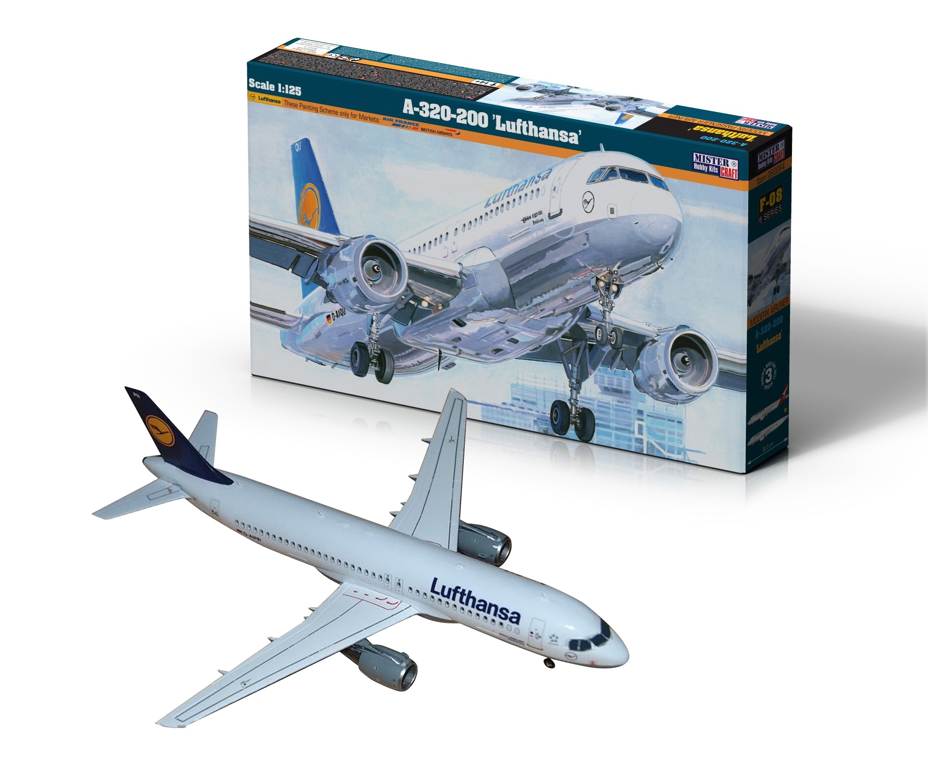 NEW ITEM! A-320-200 Lufthansa and Qantas Airways