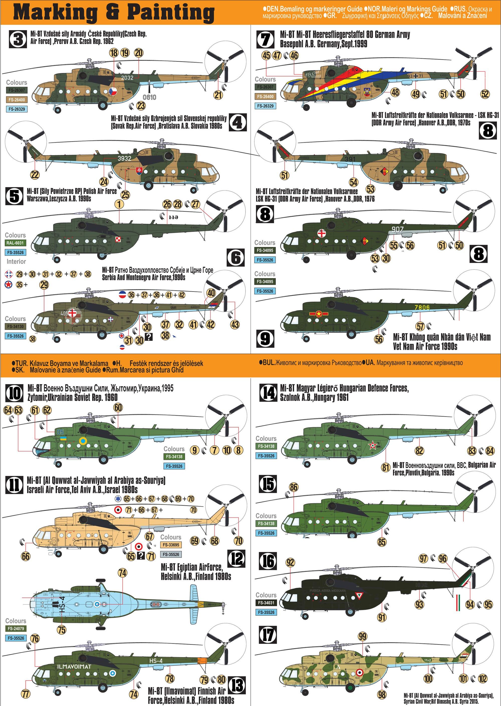 Mil Mi-8T HIP scale 1:72
