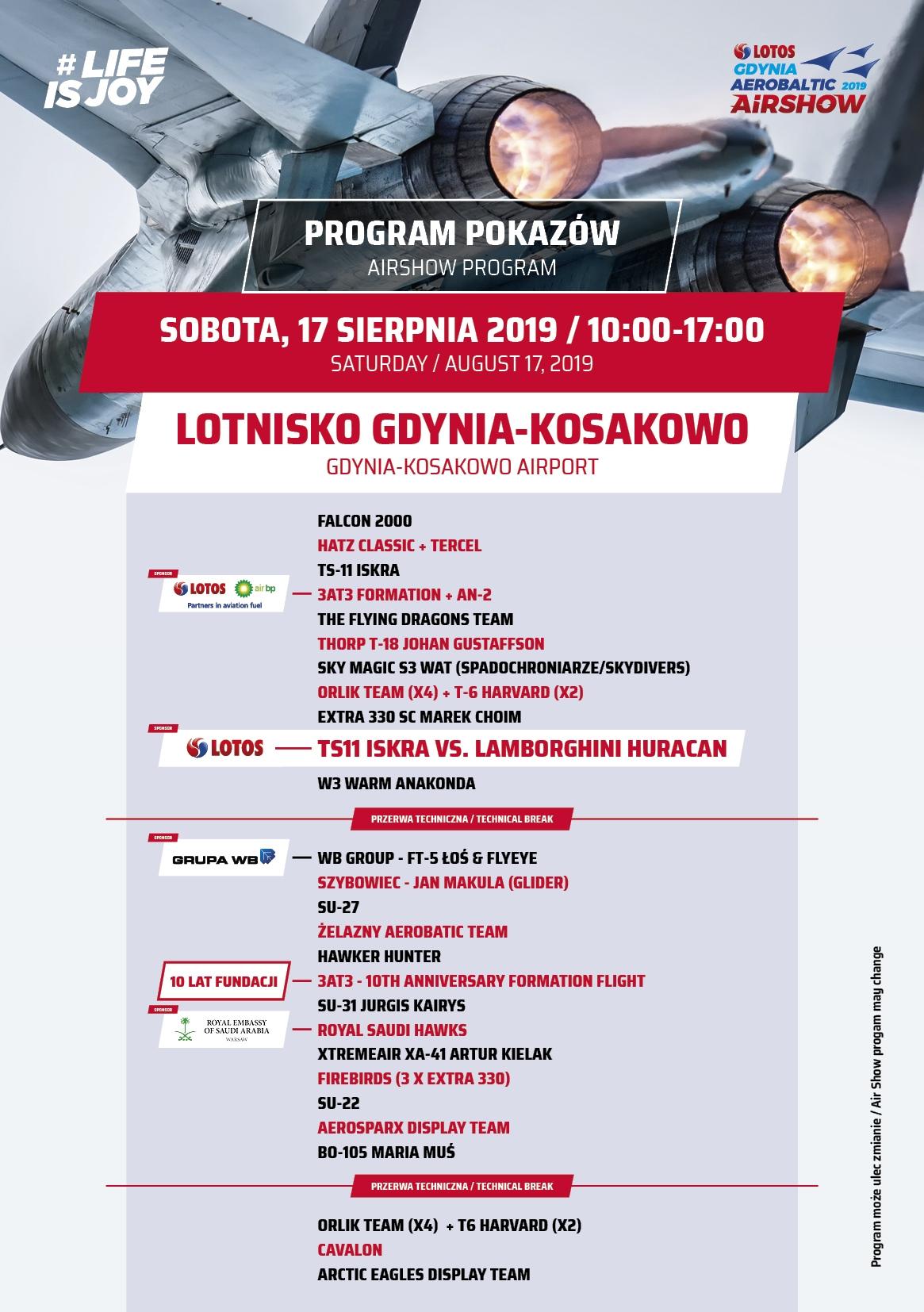LOTOS Gdynia Aerobaltic 17.08.2019 - 18.08.2019